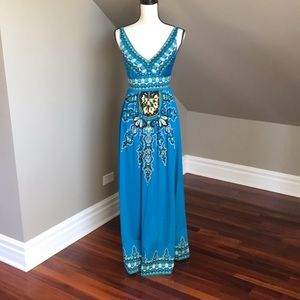 Bright & Fun INC Maxi Dress